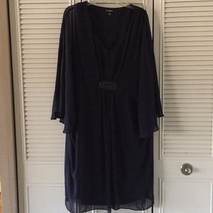 Dressy Navy Blue Dress